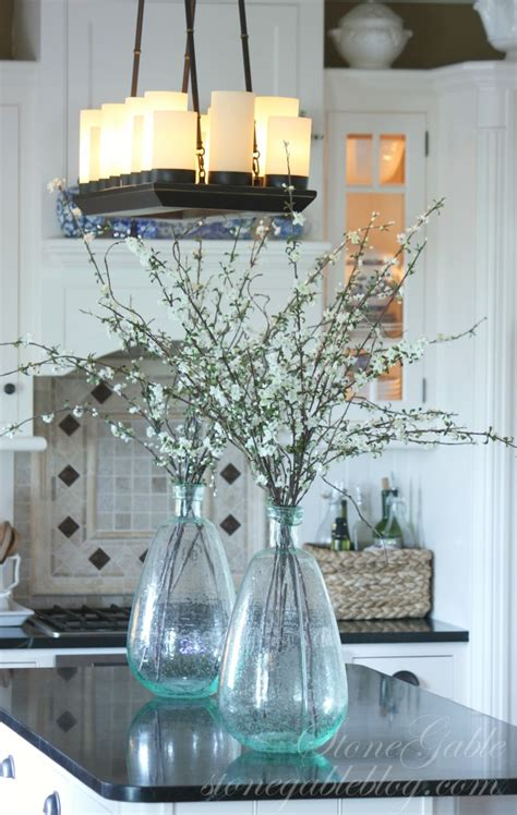 Kitchen Island Centerpiece Ideas Farmhouse Kitchen Changes Stonegable