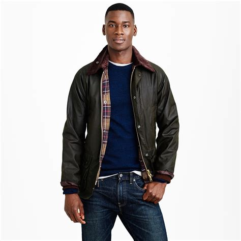 barbour sylkoil bedale jacket in green for lyst
