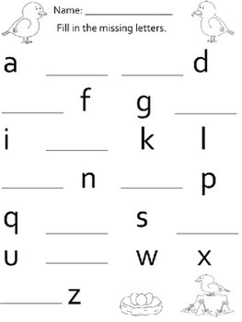 up letter fill in the blanks alphabet fill in the blank worksheets by nvw teachers