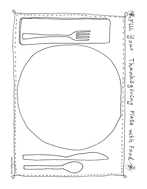 coloring page food plate free coloring pages of plate of food