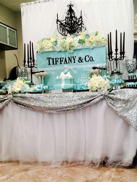Tiffany and Company Bridal/Wedding Shower Party Ideas