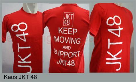 Kaos Jkt 48 Merah By Listons Cloth by Baju Jkt 48 Baju Jkt 48