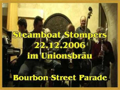 steamboat stompers münchen: bourbon street parade youtube