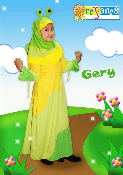 Gamis Syar I Lucu Baju Muslim Balita Lucu Dan Cantik Gamis Syar I Anak Baju