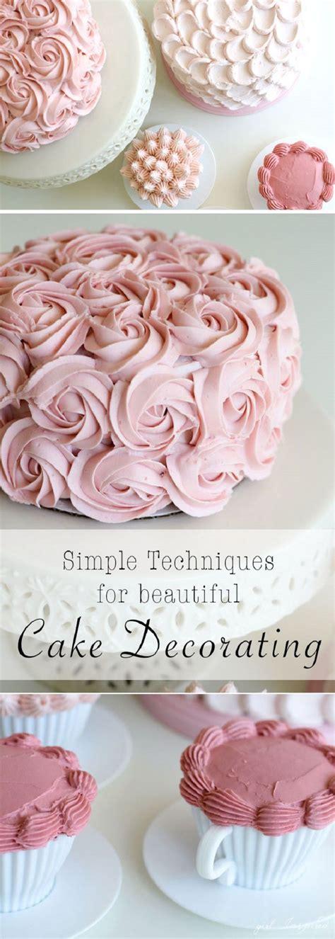 ideas  simple cake decorating  pinterest