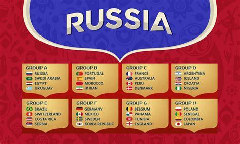 lịch thi đấu world cup 2018 gồm tất cả 64 trận đấu