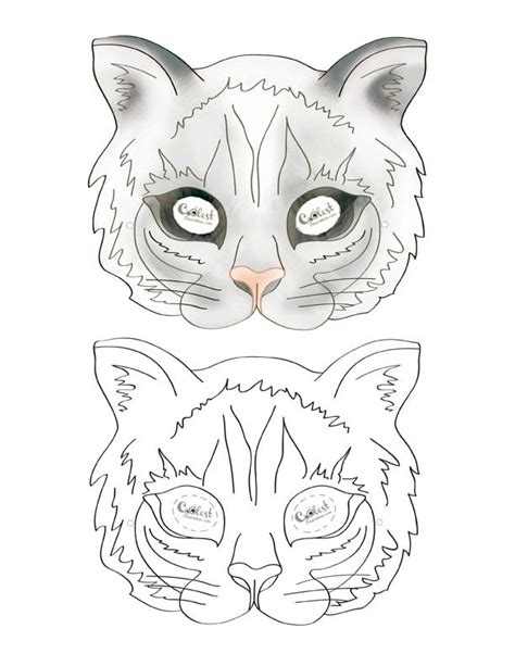 zebra mask coloring page 349 best images about printable mask on pinterest photo