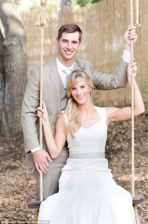 Heather Morris and husband Taylor Hubbell share snap with