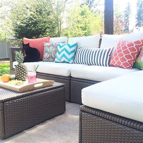 ikea outdoor sectional 30 outdoor ikea furniture ideas that inspire digsdigs