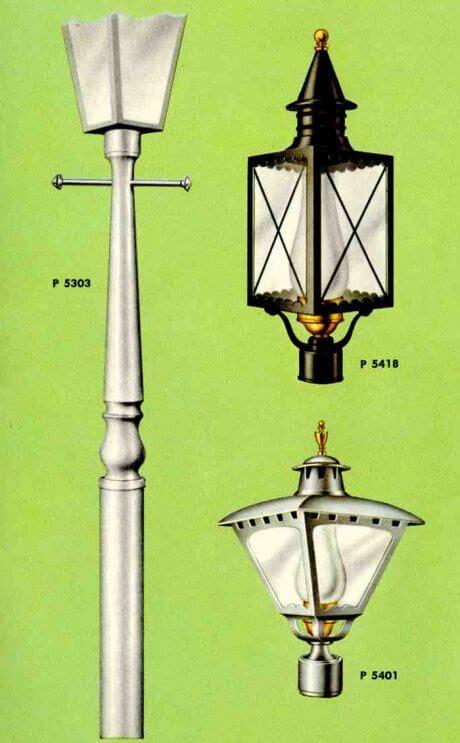 midcentury lighting ideas post lanterns lamp posts