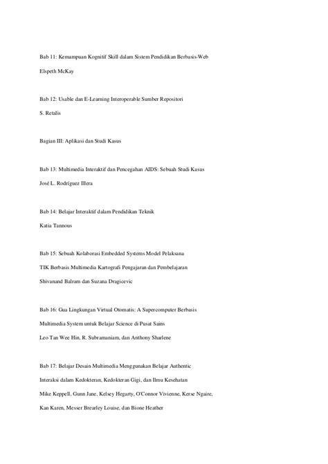 Multimedia Learning Prinsip Prinsip Dan Aplikasi Richard E Mayer interactive multimedia versi terjemahan