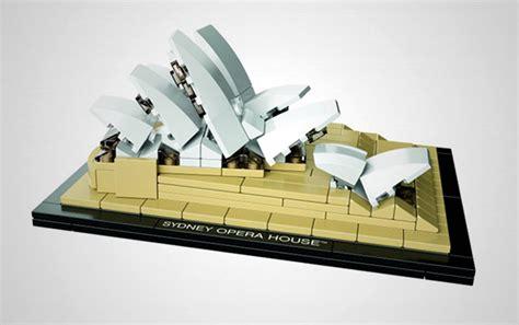 sydney opera house immortalised by lego architecture