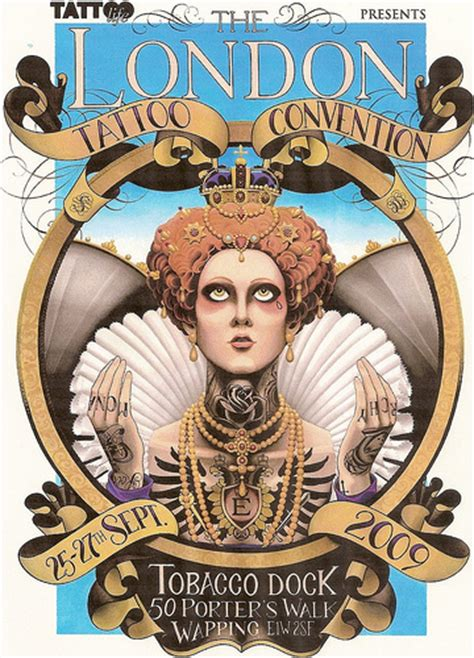 tattoo convention queen mary london tattoo convention poster flickr photo sharing