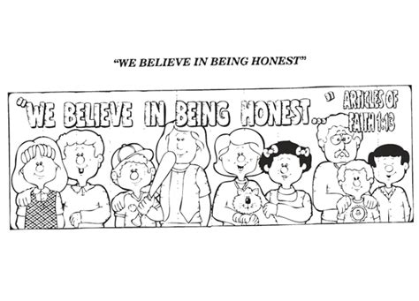 honesty coloring page coloring home