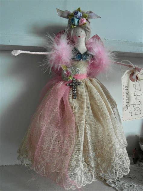Handcrafted Fairies - handmade easter doll my handmade dolls