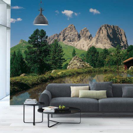 brewster home fashions wall murals brewster home fashions komar dolomiten wall mural