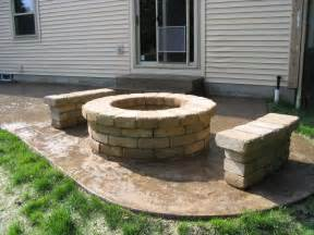 Firepit Pavers Bench Planters Made From Rumblestone Stackable Pavers By Pavestone Sold At Home Depot Design