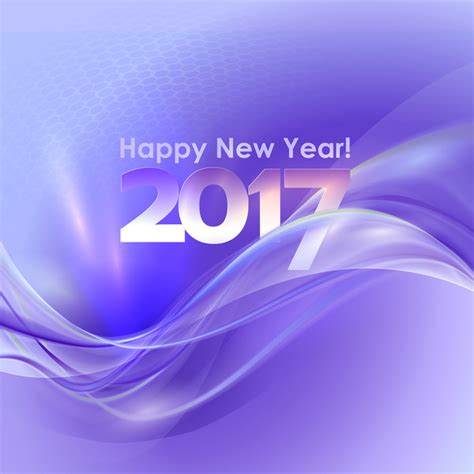 2017 new year purple abstract background vector 03 vector background