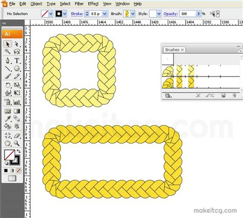 illustrator pattern brush without distortion tutorial how to create braid brush in adobe illustrator