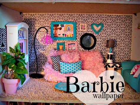 barbie home decor barbie rug and house decor a girl and a glue gun