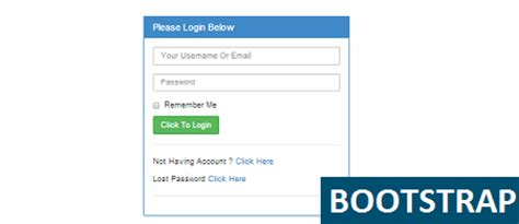 bootstrap login page template free free bootstrap templates and bootstrap themes