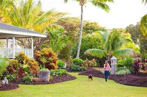 Landscape Architect Hawaii Kauai Residence Tropical Landscape Hawaii By