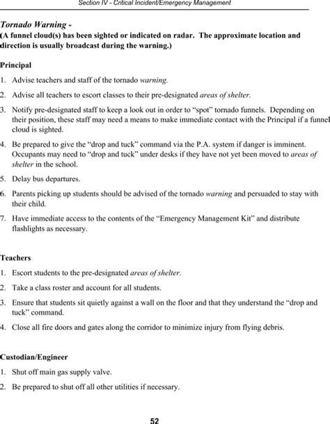 school crisis management plan template school crisis management plan for free page 54