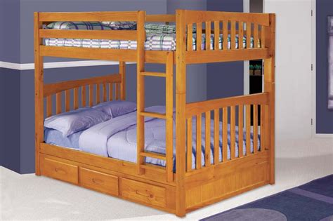 discovery world bunk beds discovery world furniture honey full over full bunk bed