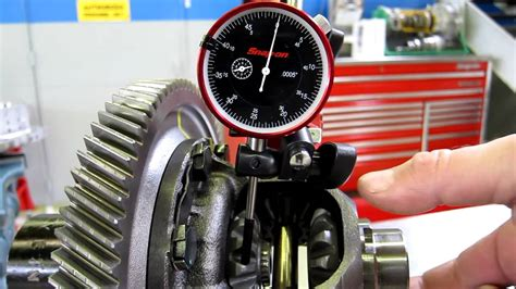 pattern lab exles differential side gear backlash measurement youtube