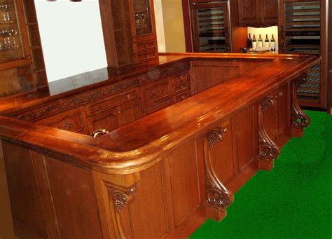 how wide is a bar top premium wide plank wood bar tops brooks custom