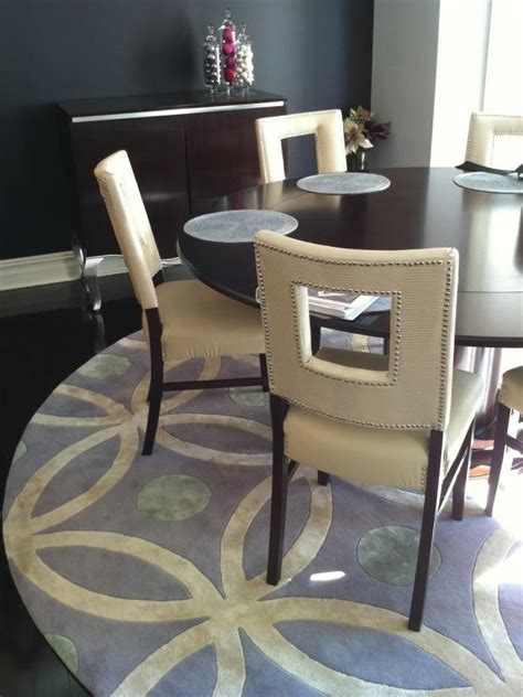 round rugs for dining room photo page hgtv