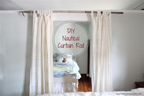 seashell curtain rods 10 homemade curtain rods you can make