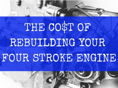 how much does it cost to rebuild a bathroom how much does it cost to rebuild a four stroke engine