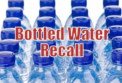 alert bottled water recall aquanui home water distillers