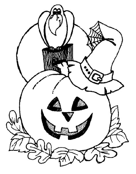 halloween coloring pages collection 2010