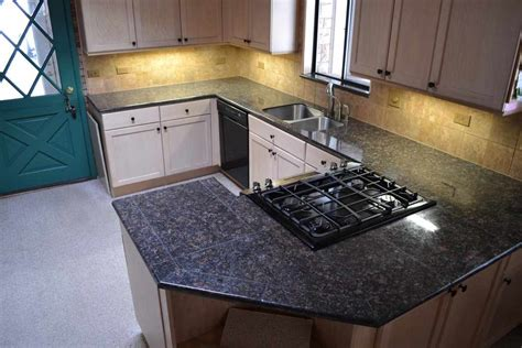 brown granite granite tile countertop for kitchen