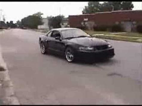 badass mustang bad mustang cobra with kenne bell supercharger youtube