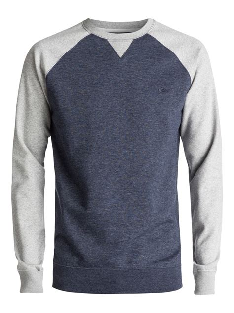 Quicksilver Navy Knite Blasster everyday sweatshirt eqyft03427 quiksilver