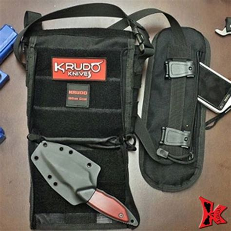 everyday carry tactical tachel every day carry tactical bag krudo knives