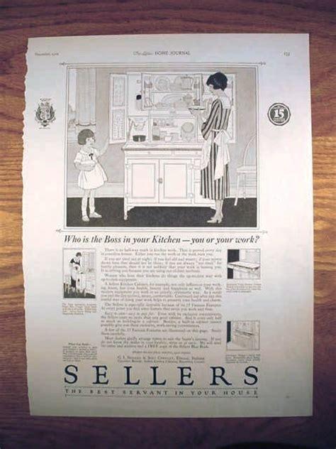 sellers hoosier cabinet parts original advertisements for