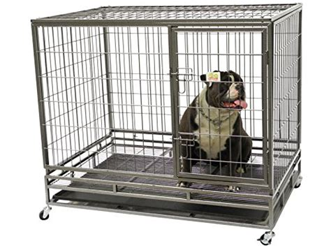 go pet club heavy duty metal cage 24 quot w x 28 75 quot h x 36 8 quot l