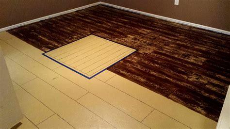 painted plywood floors boat deck  creating  wood