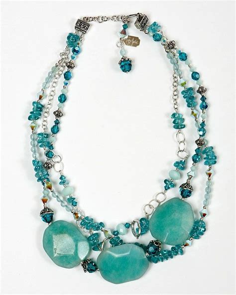 how to make chunky jewelry chunky turquoise necklace things i want to make