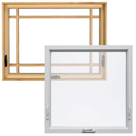 milgard awning windows milgard woodclad double awning
