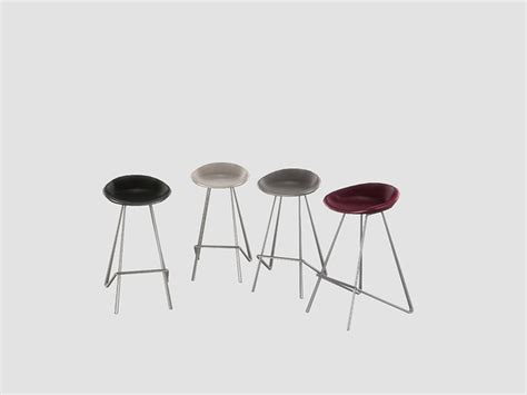 Ung999 s black white kitchen barstool