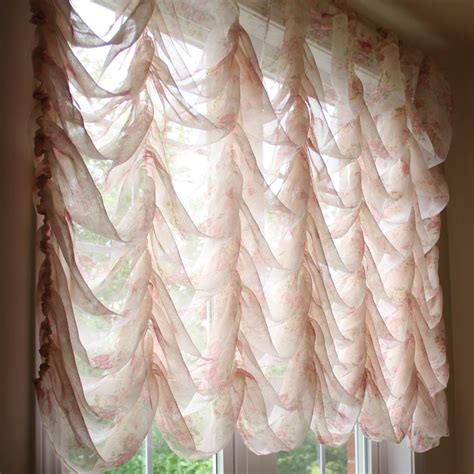 festoon curtains austrian festoon brail roman waterfall victorian balloon rose