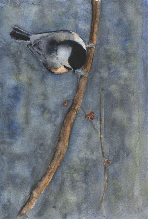 watercolor tutorial chickadee 205 best chickadees art images on pinterest little