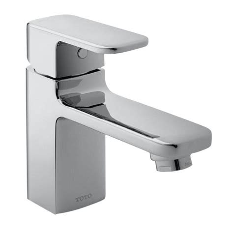 Toto Upton Single Hole Single Handle Bathroom Faucet In Toto Bathroom Fixtures