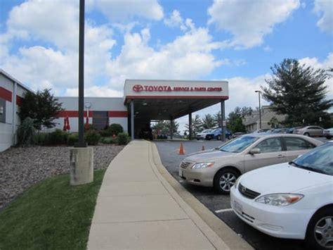 Fitzgerald Toyota Gaithersburg Fitzgerald Toyota Service Center Bilhandlare
