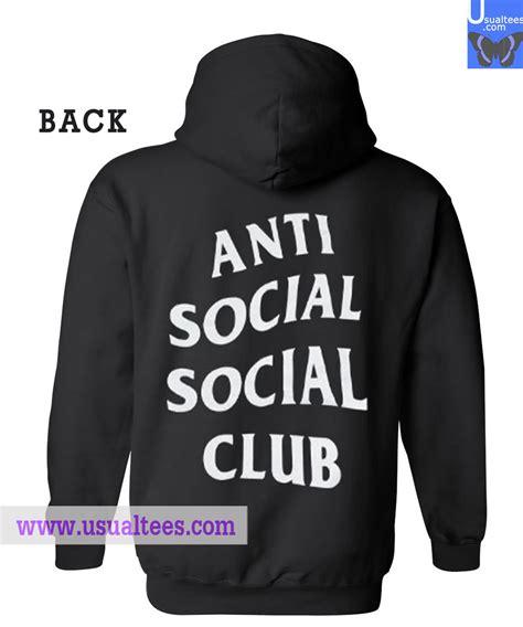 Hoodie Anti Social Social anti social social club hoodie